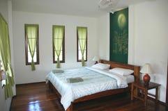 Łóżkowy Izbowy Hotel Zdjęcia Royalty Free