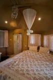 Łóżkowy izbowy wewnętrzny projekt Zdjęcie Stock