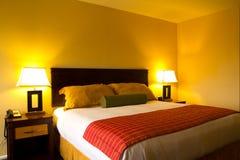 Łóżkowy izbowy wnętrze Zdjęcie Stock