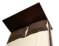 łóżkowy klasyczny drewniany zdjęcia royalty free