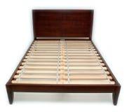 łóżkowy klasyczny drewniany Obrazy Royalty Free