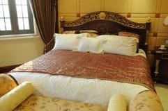 łóżkowy królewiątko rozmiar zdjęcie stock