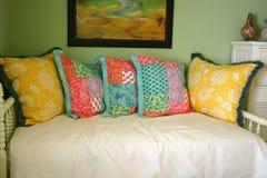łóżkowy l kanapa zdjęcia stock