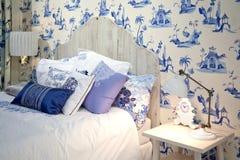 łóżkowy pokój Obraz Royalty Free