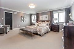 Łóżkowy pokój Zdjęcia Royalty Free