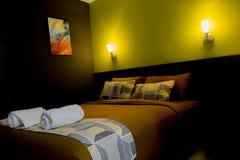 Łóżkowy pokój Obraz Stock