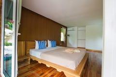 Łóżkowy pokój przy Analay kurortem Zdjęcia Stock