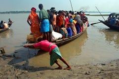 łódź ładująca Zdjęcie Stock