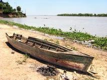 łódź łamająca Fotografia Stock