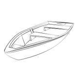 łódź ilustracja wektor