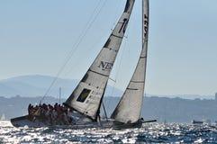 łódź angażująca rasa Zdjęcia Royalty Free