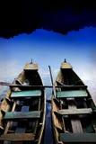 łódź bliźniak Obraz Stock