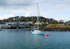 łódź cumująca Fotografia Royalty Free