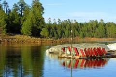 łódź dok Zdjęcie Royalty Free