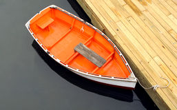 łódź dokująca obrazy stock