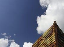 łódź drewniana Obraz Royalty Free