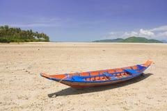 łódź drewniana Zdjęcie Royalty Free