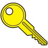 Łódź klucz ilustracja wektor