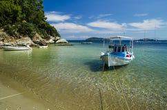 łódź kolorowa Zdjęcie Royalty Free