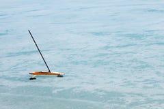 łódź lód Fotografia Royalty Free