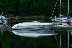 łódź motorowa Obrazy Stock