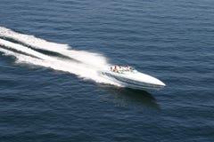 łódź motorowa Zdjęcia Royalty Free