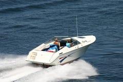 łódź motorowa Zdjęcie Stock