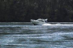 łódź motorowa Fotografia Royalty Free