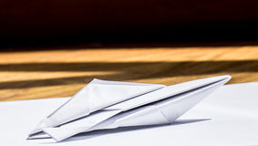 Łódź motorowa papier zdjęcia stock