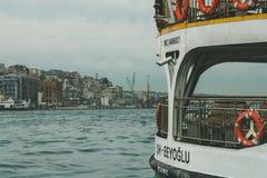 Łódź na Bosphorus Zdjęcie Stock
