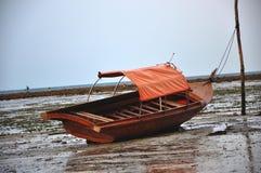 Łódź na brzeg Zdjęcie Royalty Free