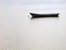 Łódź na morzu Fotografia Royalty Free