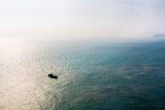 Łódź na morzu Obraz Stock