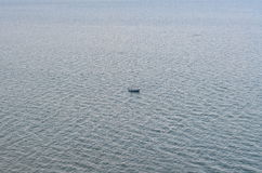 Łódź na morzu Zdjęcie Royalty Free