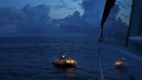 Łódź na oceanu strzale zbiory