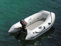 łódź nadmuchiwana Zdjęcie Royalty Free