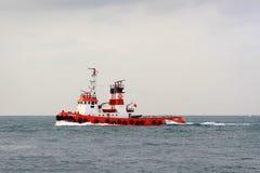 łódź ogień Zdjęcia Royalty Free