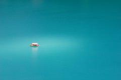 łódź osamotniona Obraz Royalty Free