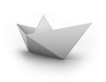 łódź papier Zdjęcia Royalty Free