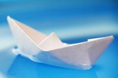 łódź papier Zdjęcie Royalty Free