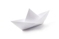 łódź papier Zdjęcie Stock