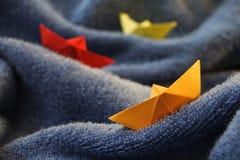 łódź papier Obraz Stock