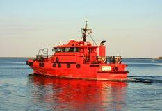 łódź pilot Obrazy Royalty Free