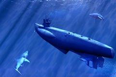 łódź podwodna zdjęcia stock