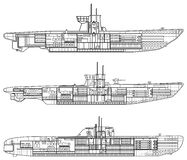 łódź podwodna Obraz Stock
