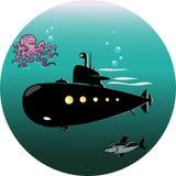 łódź podwodna Zdjęcie Royalty Free