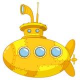 łódź podwodna ilustracji