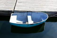 Łódź przy dokiem Obrazy Royalty Free