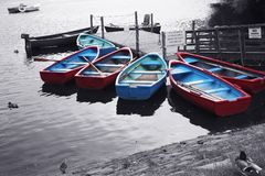 łódź przyjemności Obraz Royalty Free