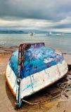 łódź puszek łowi górę Obrazy Stock